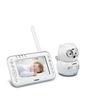 Vtech Owl Video & Audio baby monitor with motorised Pan and Tilt