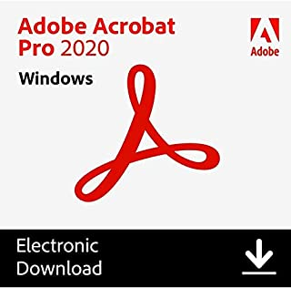 Adobe Acrobat Pro 2020 for Permanent License Windows by Amazon info. delivery