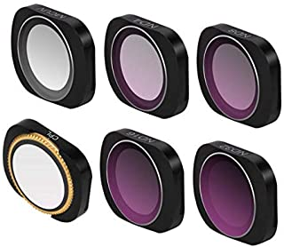 6 IN 1 MCUV CPL ND4/ND8/ND16/ND32 Camera Lens Filters For DJI OSMO POCKET Camera Lens Filters