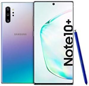 Samsung Galaxy Note 10+ Dual SIM 256GB 12GB RAM 4G LTE (UAE Version) - Aura Glow - 1 year local brand warranty