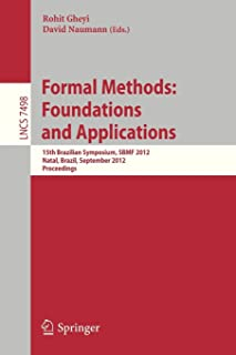Formal Methods: Foundations and Applications: 15th Brazilian Symposium