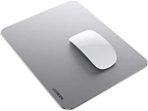 UGREEN Gaming Aluminum Mouse Pad Hard Double Side Metal Mouse Mat Ultra Thin Waterproof for Gaming