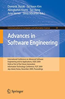 Advances in Software Engineering: International Conference on Advanced Software Engineering and Its Applications