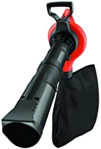 Black+Decker 3000W Variable Speed Blower/ Suction Vacuum with 40L Collection Bag for Home & Garden/Outdoor Use