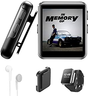 16GB Clip MP3 Player with Bluetooth