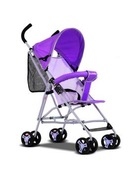 SunBaby Ultra-Light Portable Kids Buggy -Purple