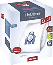 Miele XL HyClean 3D GN dustbags - 4.5 liters capacity (8 bags)
