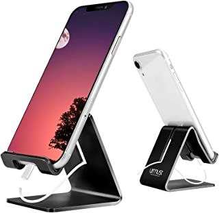Desk Cell Phone Stand Holder Aluminum Phone Dock Cradle Compatible with Switch