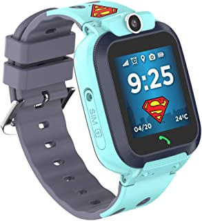 SUPERMAN Waterproof Mobile SmartWatch with Sim Slot and Camera (TM-SW300S)