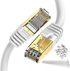 Cat 8 Ethernet Cable White