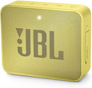 JBL Go 2 Portable Bluetooth Waterproof Speaker (Yellow)