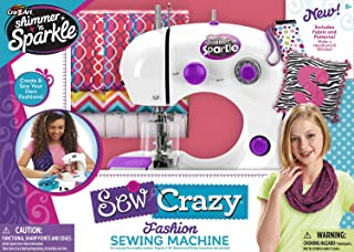 Shimmer N Sparkle Sew Crazy Sewing Machine