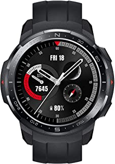 """Honor Watch GS Pro Smart Watch 1.39"""" AMOLED 5ATM Waterproof - Charcoal Black with Black Strap"""