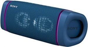 Sony SRS-XB33 Wireless Extra Bass Bluetooth Speaker with 24 Hours Battery Life