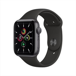 Apple Watch SE GPS 40mm Space Grey Aluminum Case with Black Sport Band