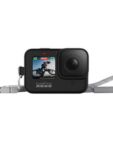 GoPro Sleeve + Lanyard Black for Hero9 Black