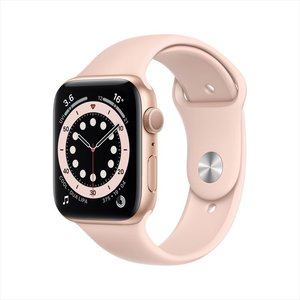 Apple Watch Series 6 GPS 40mm Gold Aluminum Case with Pink Sand Sport Band
