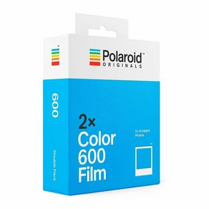 Polaroid Color Film for 600 Double Pack