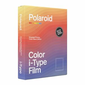 Polaroid Color Film for I-Type Color Wave Edition
