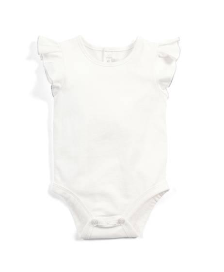 Frill Sleeve Bodysuit