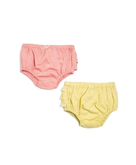 Eid Yellow & Pink Knickers - 2 Piece