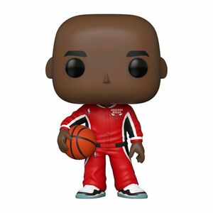 Funko Pop NBA Bulls Michael Jordan In Red Warm Ups Exclusive Vinyl Figure