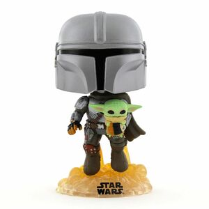 Funko Pop Star Wars The Mandalorian with The Child Bobble Head