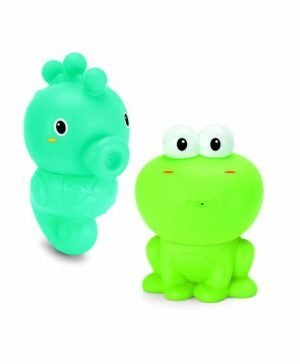 INFANTINO EASY CLEAN BATH SQUIRTERS with clipstrip