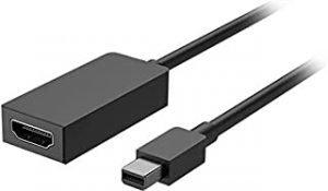 Microsoft EJT-00008 Mini DisplayPort HDMI Black - Cable Interface/Gender Adapters (Mini DisplayPort