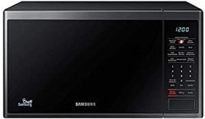 Samsung Microwave Oven With Grill 32 Liter Black Inner Ceramic MG32J5133AG