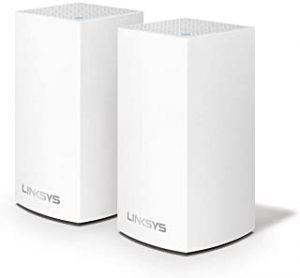 Linksys VLP0102 Velop Whole Home Mesh WiFi System (AC2400 WiFi Router/WiFi Extender for Seamless Coverage