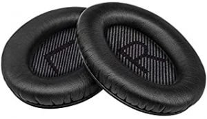 Baeskii Ear Pad Replacement Soft Memory Foam Replacement Cushion Pads Compatible With Bose QC2 QC15 QC25 QC35 AE 2 2i 2w