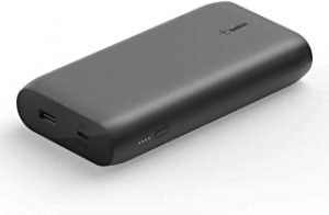 Belkin USB-C PD Power Bank 20K (Fast Charge Portable Charger with USB-C + USB Ports