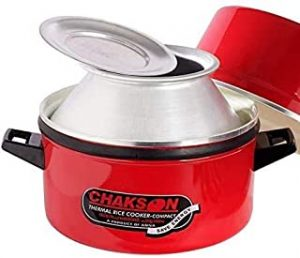 Chakson Choodarapetty Induction based Thermal Rice Cooker 6.4 Litres Capacity