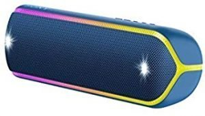 Sony SRS-XB32 EXTRA BASS Portable Bluetooth Compact Party Speaker - Loud Audio for Phone Calls - Blue