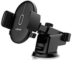 LEEIOO Car mount Dashboard&windshield Car Phone Holder Cell Phone Car Cradle for iPhone X 8/8s 7 7 Plus 6s Plus 6s 6 SE Samsung Galaxy S8 Plus S8 Edge S7 S6 Note 8