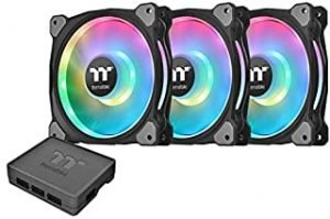 Thermaltake Riing Duo 140mm 16.8 Million RGB Color (Alexa