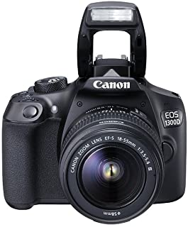 Canon EOS 1300D 18 - 55mm 3.5-5.6 IS II Lens Kit- 18 MP