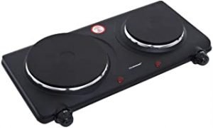 Olsenmark Double Burner Electric Hot Plate