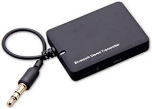 Douself Mini 3.5mm BT Audio Transmitter A2DP Stereo Dongle Adapter Compatible with iPod Mp3 Mp4 PC TV