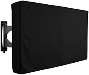"""Outdoor TV Cover 30"""" - 32"""" Waterproof Dustproof Television Protector Remote Control Pocket Bottom Cover for LED LCD Plasma Television Sets"""