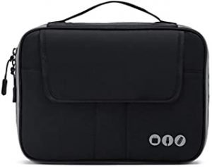 Acoki 2 Layers Travel Electronic Accessories Organizer Bag