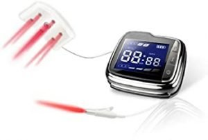 650nm Cold Red Light Laser Therapy Wrist Watch That Helps to Cure Diabetes