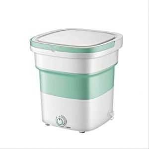 Mini Foldable Washing Machine Lightweight Travel Laundry Washer with Folding Tub Portable Compact Clothes Cleaning Machine