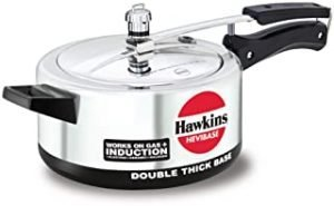 HAWKINS IH35 Havibase Aluminium Induction Compatible Double Thick Base Pressure Cooker