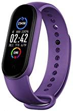 Honfei M5 Smart Bracelet Bluetooth Sport Fitness Tracker Heart rate Monitor Waterproof Women Men Wristwatch Smart Band