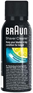 Braun Shaver Cleaner Spray