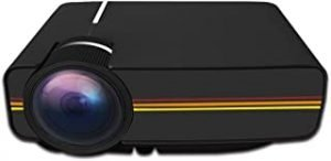 Ningshine YG400 800x480 1200LM Mini LED Projector Home Theater