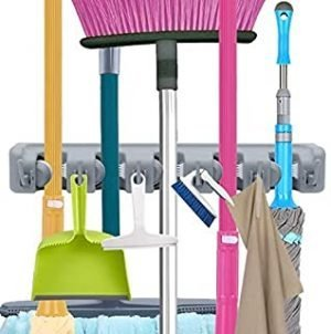 OUZIFISH Mop and Broom Holder
