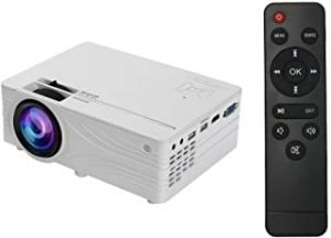 Douself LED Video Mini Projector HD 1280 x 720P Portable Beamer Multi-Screen Support Full HD 1080P VGA USB AV TF Card Audio Home Theater Cinema Media Video Player